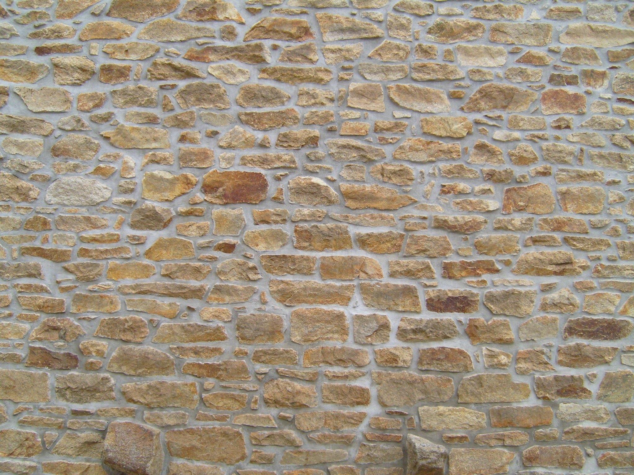 Old Stone Brick Wall Stone Facade Stone Texture Brick