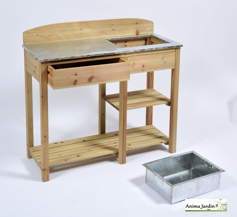 table rempotage cour arri re pinterest facilit hauteur et plateau. Black Bedroom Furniture Sets. Home Design Ideas