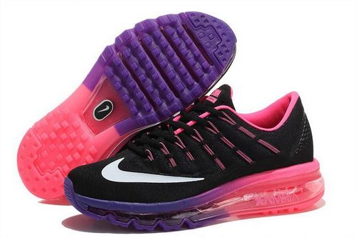 Nike Air Max 2016 Womens Purple Pink Black White Review in