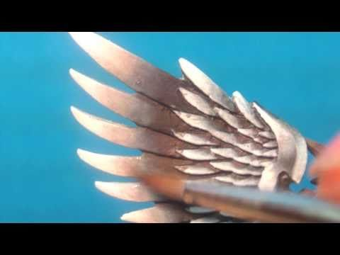 How to Paint: NMM Sanguinor: Highlighting the Wings - YouTube