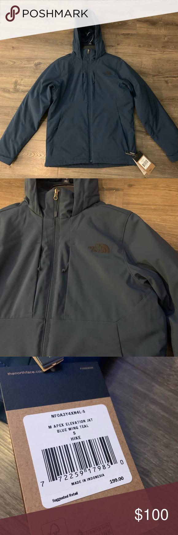 The Northface Men S Apex Elevation Jacket Small Jackets The North Face North Face Jacket [ 1740 x 580 Pixel ]