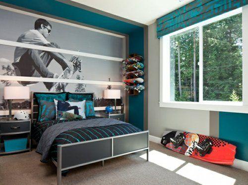 Uberlegen Heute Geht Es Bei Uns Um Farbgestaltung Fürs Jugendzimmer Und Vor Allem Um  Seine Anordnung Und