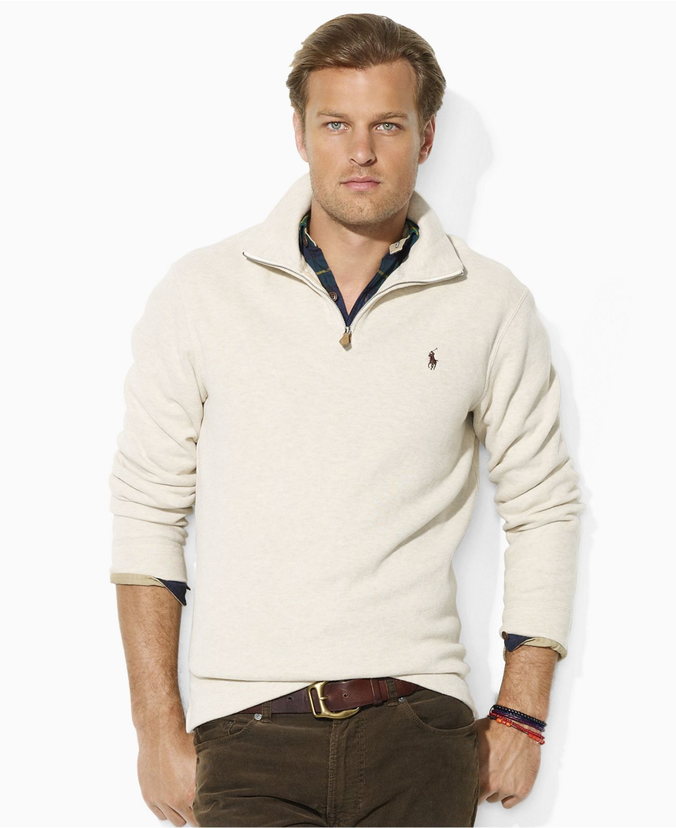 Polo Ralph Lauren Sweater French Rib Sweater Mens Sweaters
