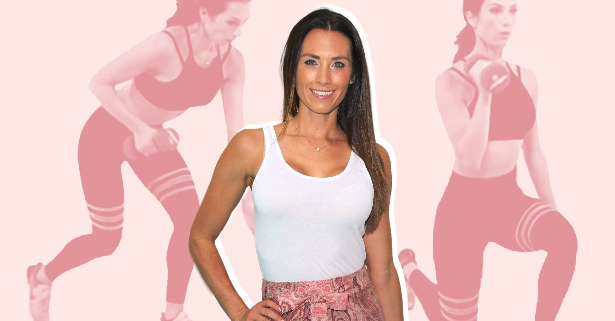 5 Dumbbell Workouts From Autumn Calabrese that Will Tone Your Entire Body #dumbbellworkout Autumn Calabrese shows us five dumbbell exercises that are perfect for strengthening your entire body.