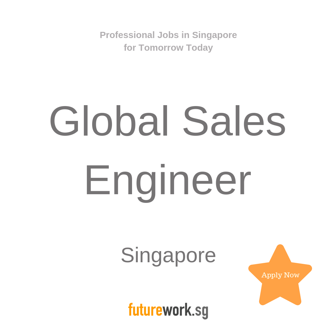 Global Sales Engineer You Will Have A Proven Track Record