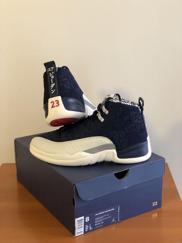 buy online 9c5ae 7fd84 Nike Air Jordan Retro XII 12 International Flight Navy Size ...
