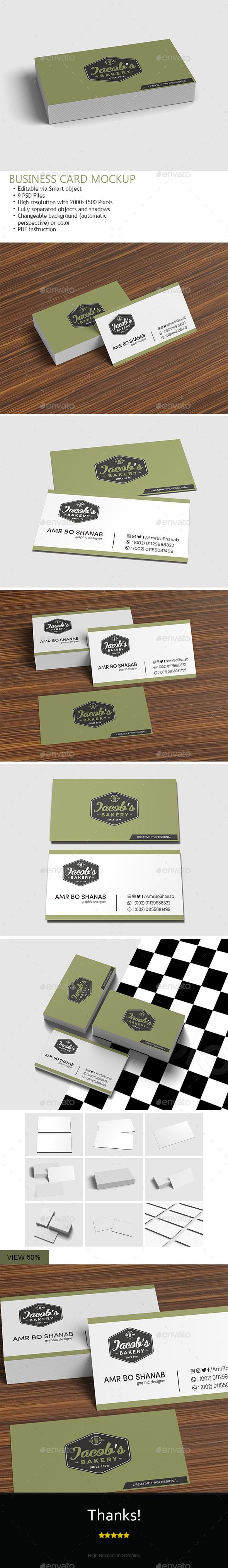 Business card mockup mockup business cards and business 9 photoshop files business card dimensions 35x2 inches high resolution 2000x1500 pixels reheart Choice Image