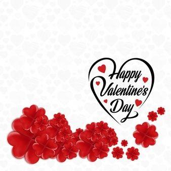 71ffbc6c60c88 Feliz marco de flor de San Valentín