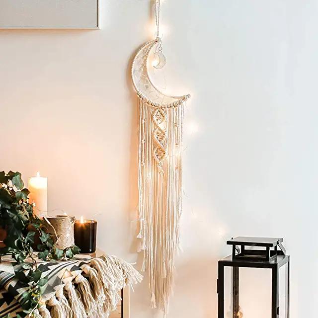 1Pc Elegance Hand-woven Dream Catcher Tapestry Tassel Tapestry