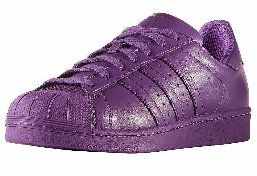 Produkttyp , Sneaker, |Schuhhöhe , Niedrig (low), |Farbe , Lila, |Herstellerfarbbezeichnung , RAY PURPLE F13/RAY PURPLE F13/RAY PURPLE F13, |Obermaterial , Materialmix aus Synthetik und Leder, |Verschlussart , Schnürung, |Laufsohle , Gummi, | ...