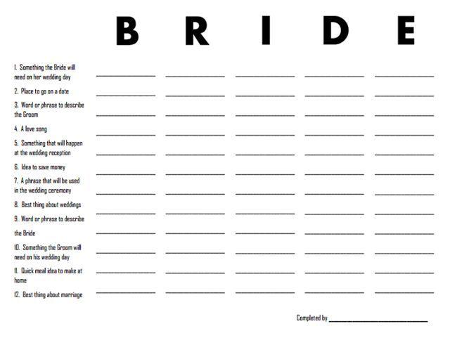 Bridal Shower Travel Themed Games Google Search Wedding