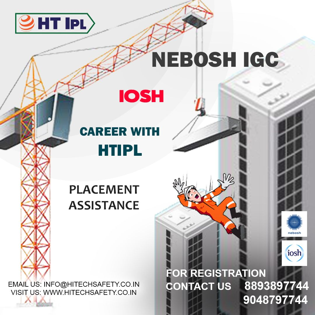 We provide health and safety certification to employees to