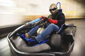 Flags And Wheels Is A Black Hills Attraction With Indoor Go Cart Racing Bumper Cars Lazer Tag Paintball X2f Reball Batt Indoor Racing Black Hills Racing