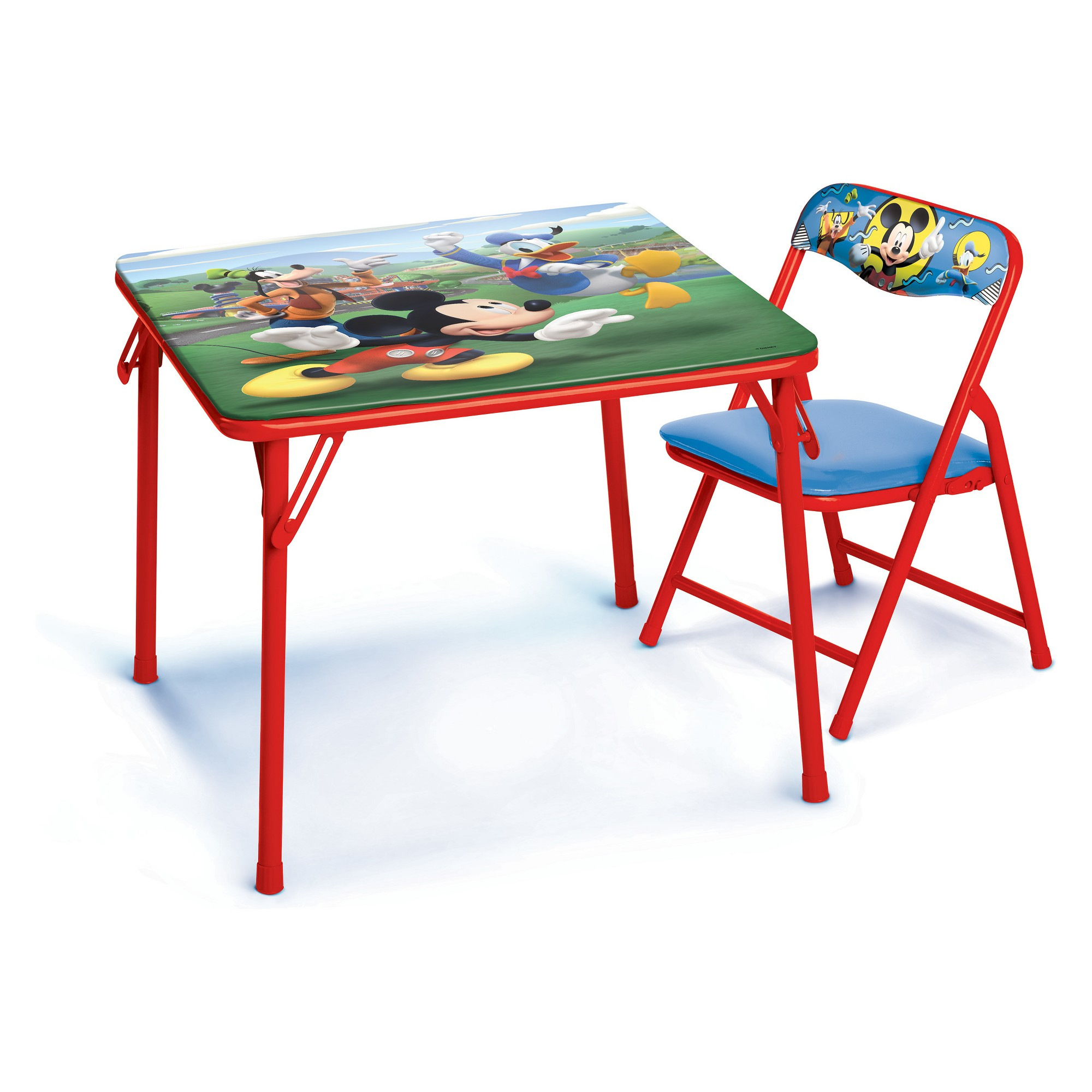 Mickey Mouse Jr Activity Table Red Products Table