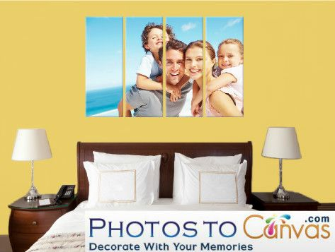 Great Family Portrait, Order your photos to canvas as multiple piece ...