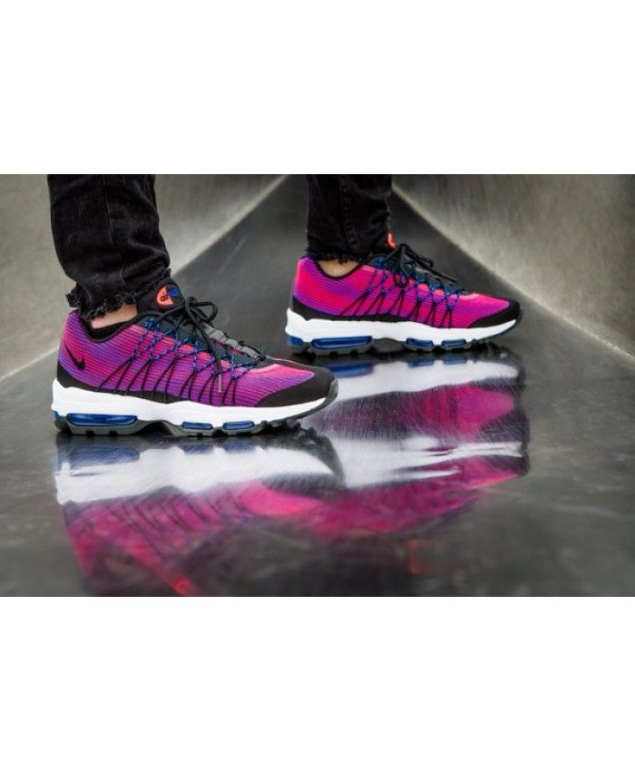 buy popular 2bd44 044e7 Nike Air Max 95 Ultra Jacquard Bright Crimson Trainer | nike air max ...