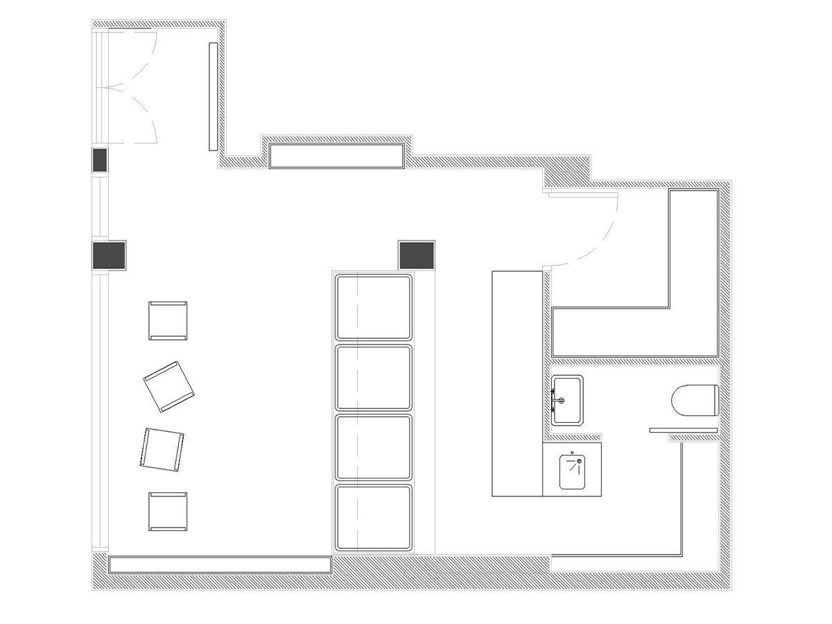 Floor Plan Of Butchery Modern House