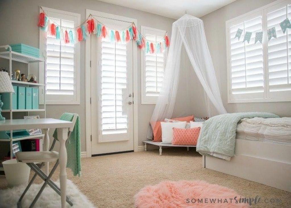 Impressive Tween Girl Bedroom Decorating Ideas 32