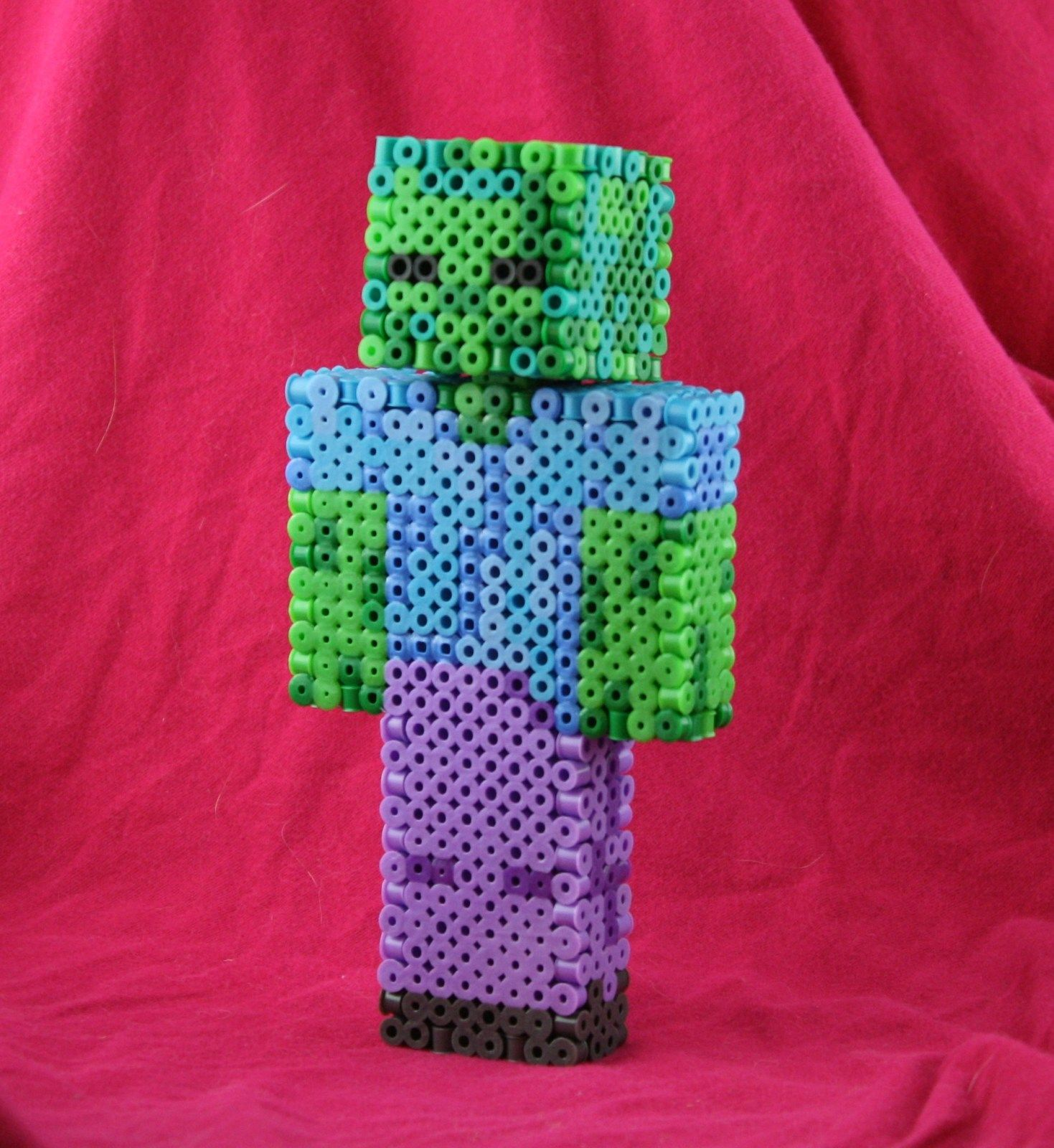 3d Minecraft Zombie Cow Steve Creeper And Wedding Couple