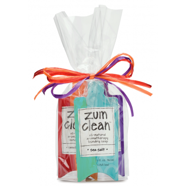 Zum Clean Sampler Pack Laundry Soap Clean Laundry Detergent