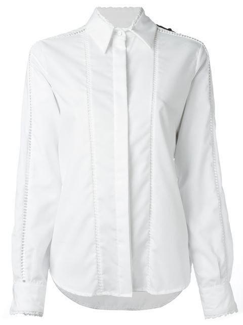 PREEN BY THORNTON BREGAZZI colour block shirt. #preenbythorntonbregazzi #cloth #shirt