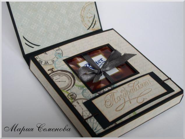 шоколадницы скрапбукинг фото
