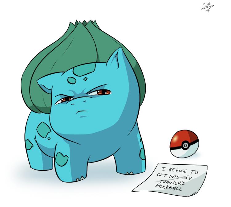Pokemon Shaming - Bulbasaur by X-Cross.deviantart.com on @DeviantArt