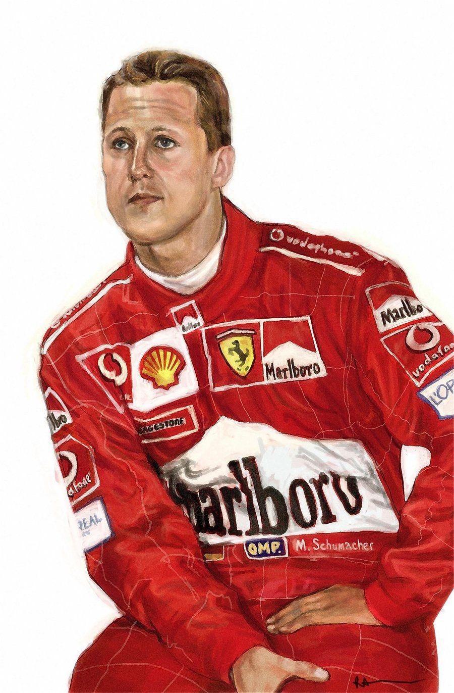 Michael Schumacher by RAblewhite.deviantart.com on @deviantART