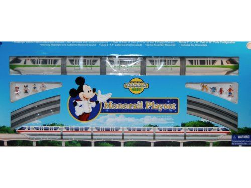 Disney Monorail Set Completed Pinterest