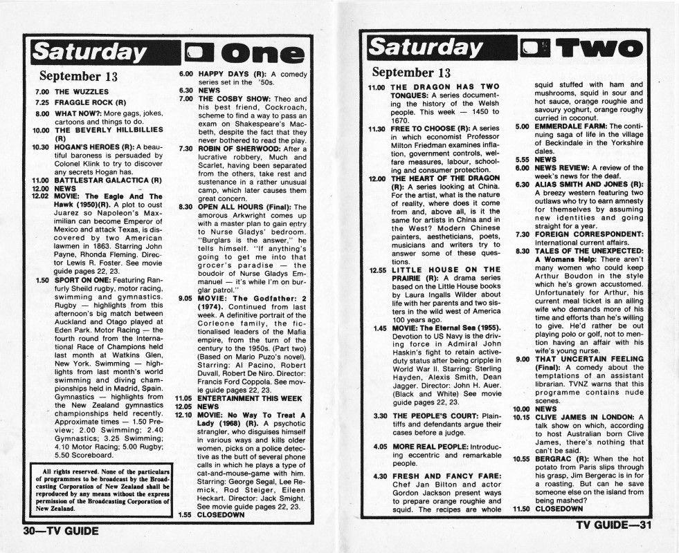 Pin On Classic Nz Tv Listings