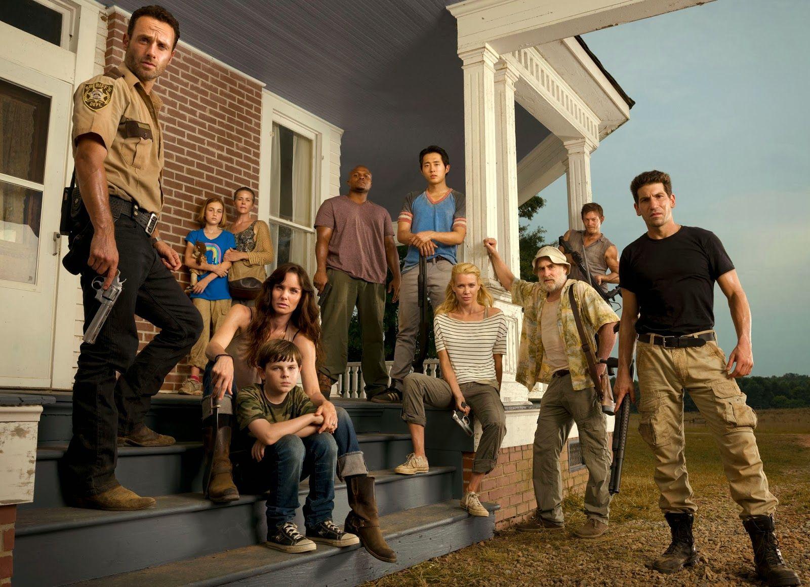 Zijn een van de Walking Dead cast dating