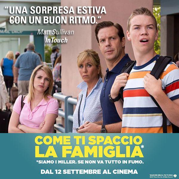 """Come #TiSpaccioLaFamiglia è """"una sorpresa estiva con un buon ritmo""""; dal 12 Settembre al cinema!"""