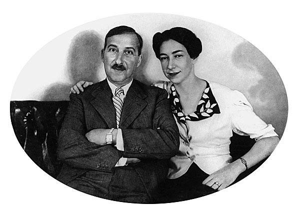 Stefan Und Lotte Zweig 1940 In Rio De Janeiro Brasilien Stefan Zweig Albtraum Maria Schrader