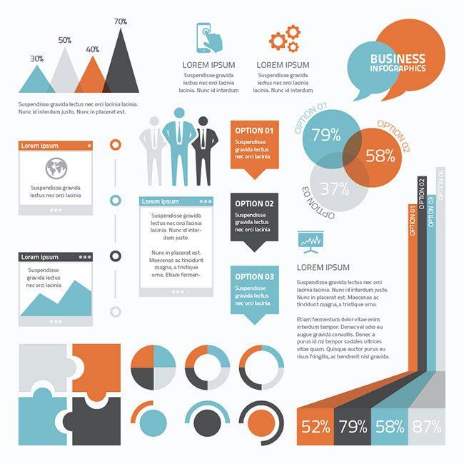 15 Basic Business Infographics | infographie | Pinterest ...