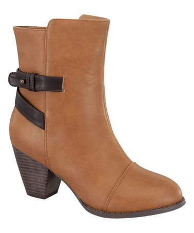 Look what I found on #zulily! Tan Tail Boot #zulilyfinds