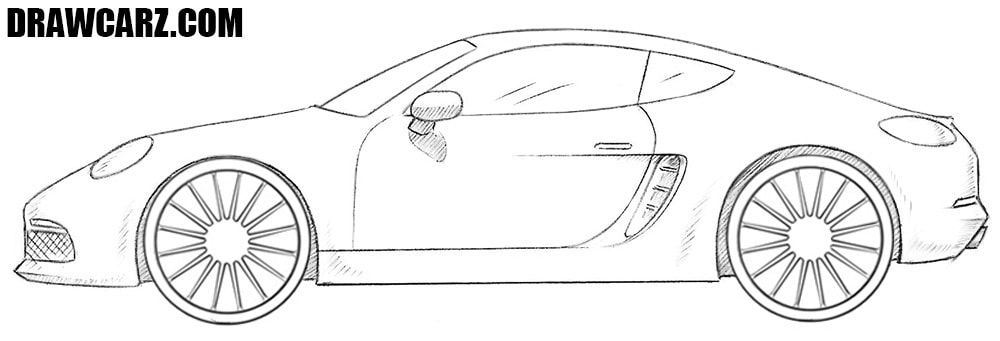How To Draw A Sports Car With Images Ferrari Car Sports Car
