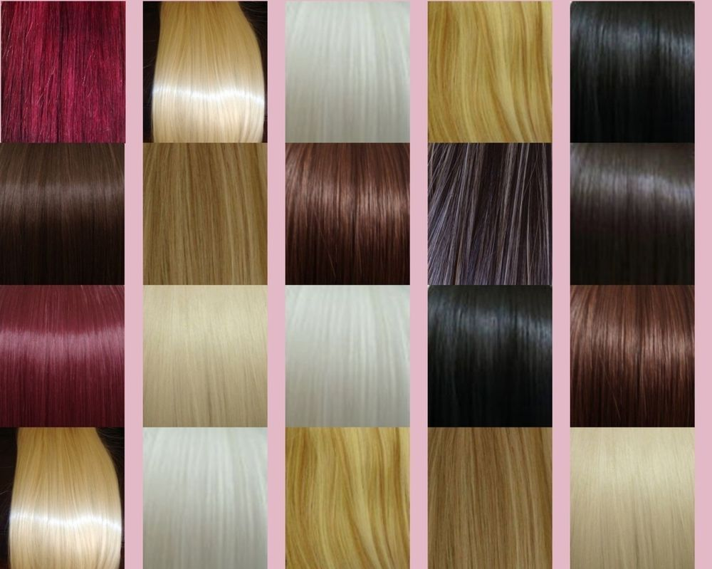 20 Remy Human Deluxe Thick Weft Hair Extensions 300 Grams Any