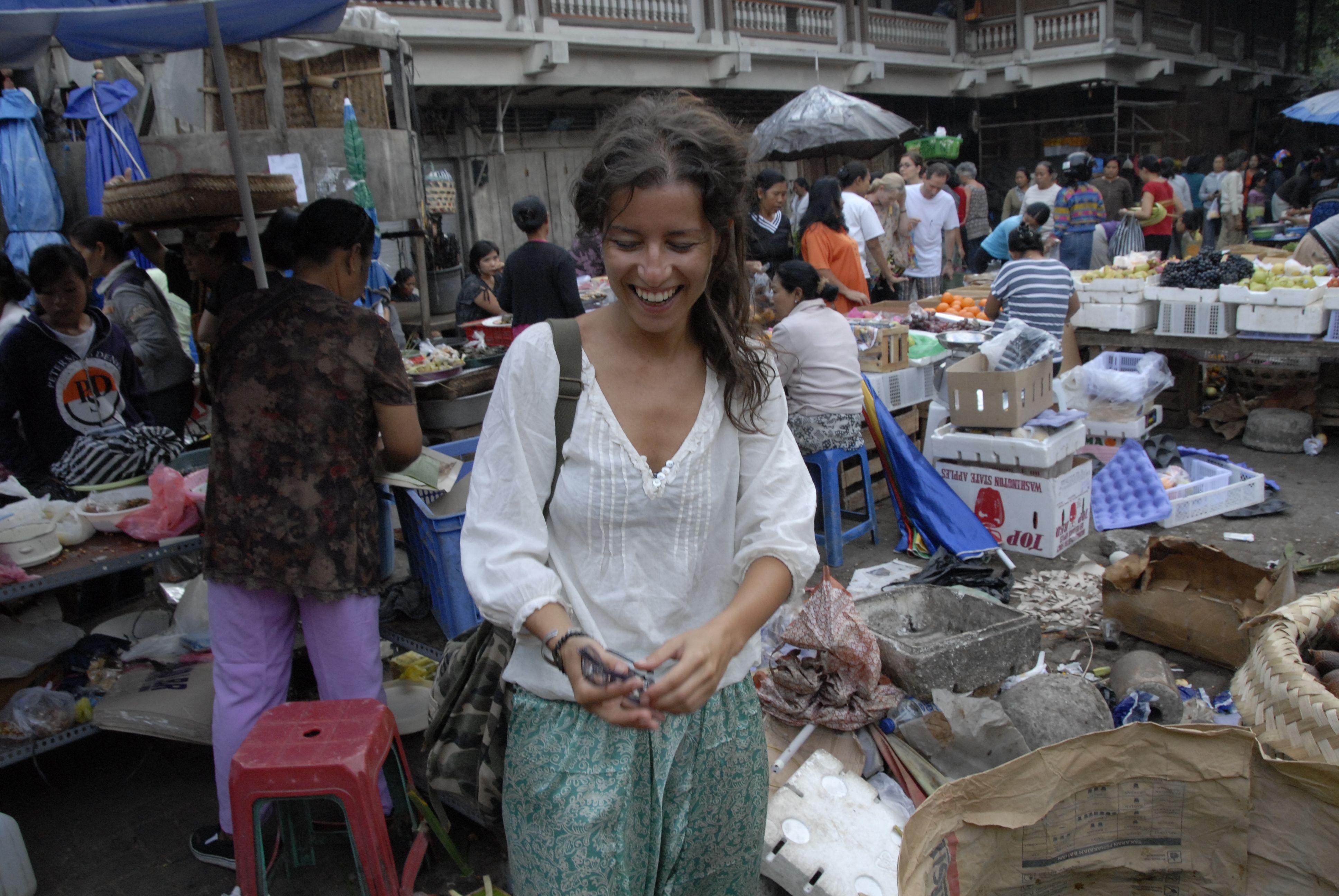 Ubud Market…I was so happy...