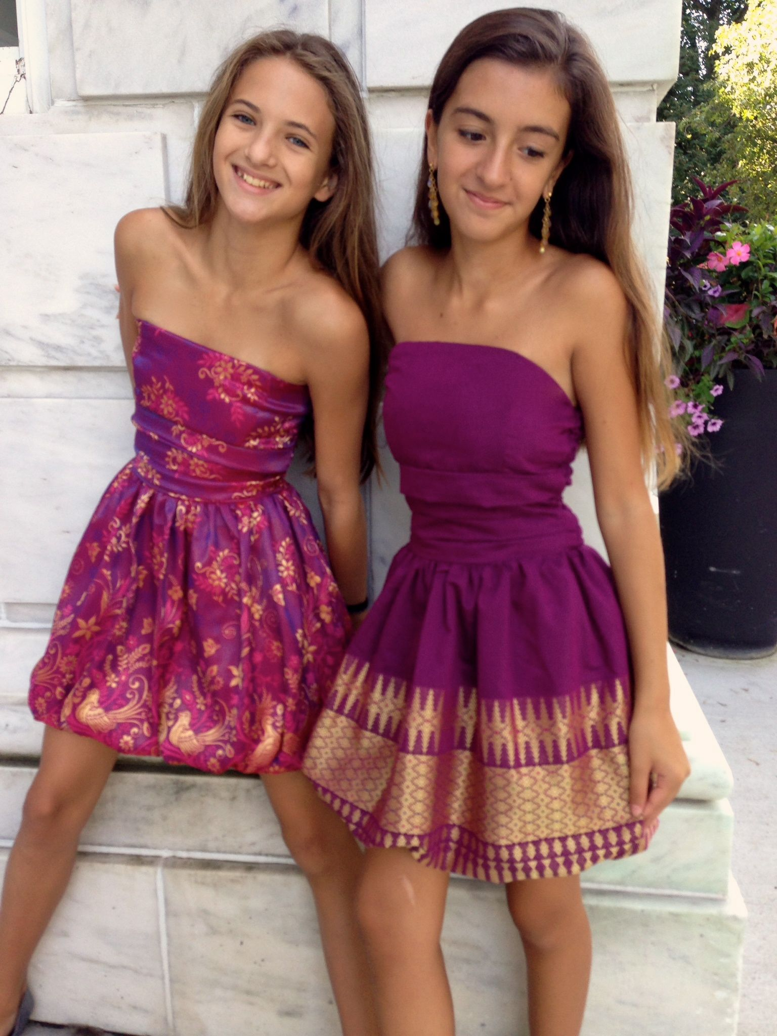 Lia Wearing Color Tween And Teen Special Occasion Wear