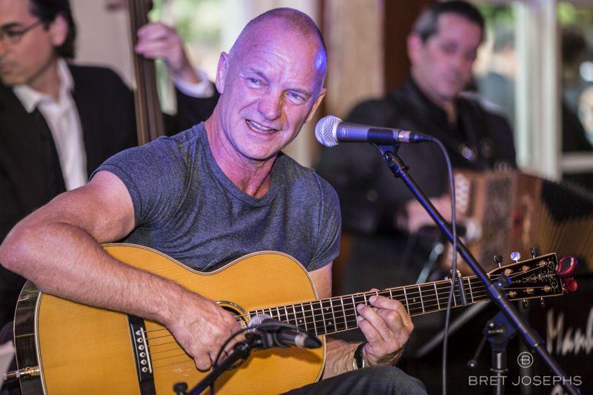Sting live. Taken by Bret Josephs. www.bretjosephs.com