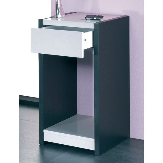 telephone console table. sario high gloss telephone/console table, 42112 telephone console table