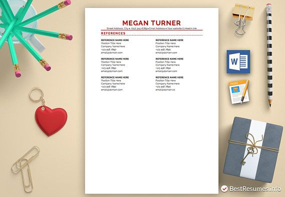 Resume Template Instant Download  Professional Resume  Modern