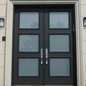 Contemporary Front Doors Exterior Doors Iron Entry Doors