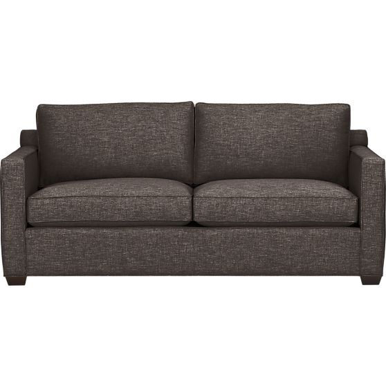 Davis Queen Sleeper Sofa Crate And Barrel With Cushion Heigh