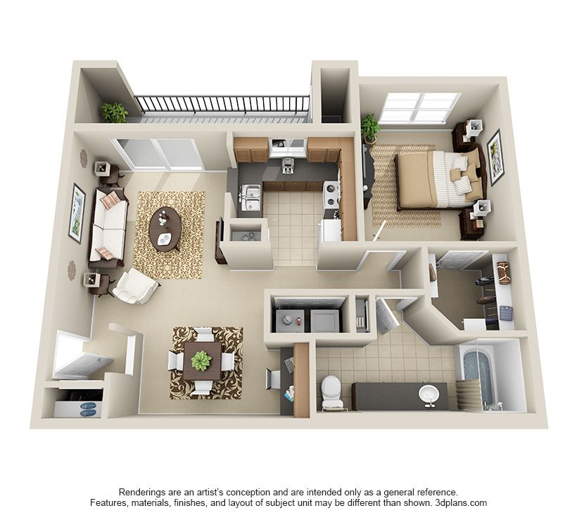 One Bedroom A3 Apartment Floor Plans Apartment Layout Apartment Furniture Layout