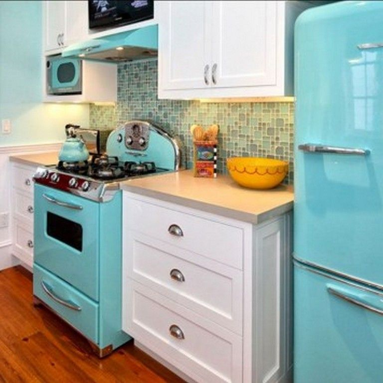 25 modern vintage style kitchen appliance product and design contemporary kitchen decor on kitchen appliances id=11453