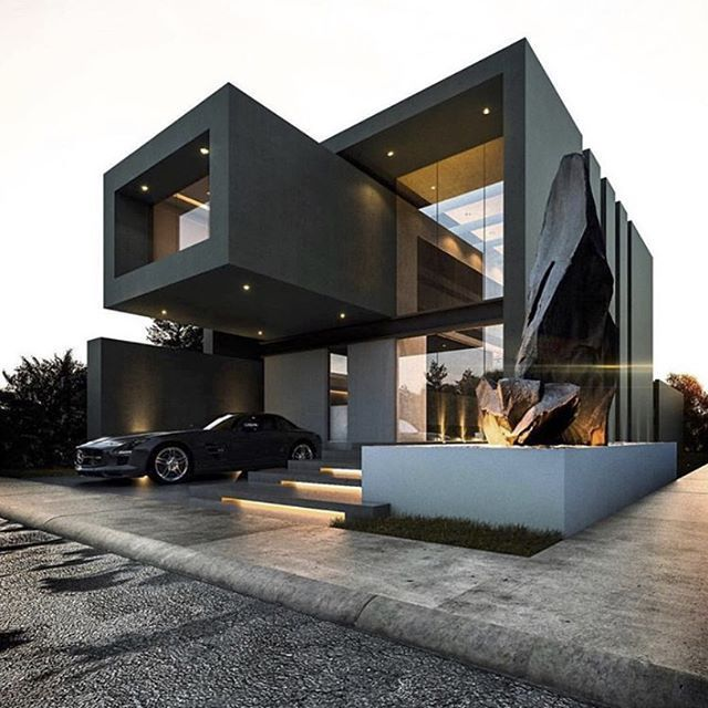 Modern House Design - House exterior - House Inspiration | Houses ...