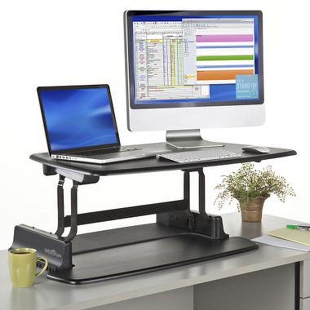 adjustable standing desk office. VARIDESK Pro - Adjustable Standing Desk Desktop Addition #want Office