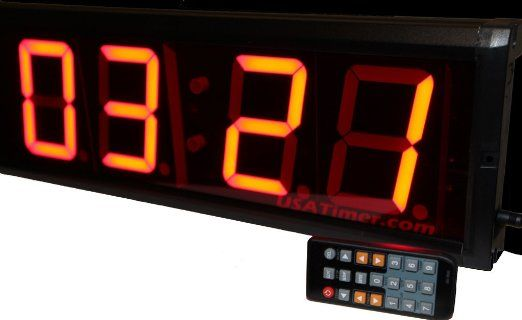 Coaches' & Referees' Gear Workoutz Programmable Mini Interval Timer Countdown Clock with Wireless Remote