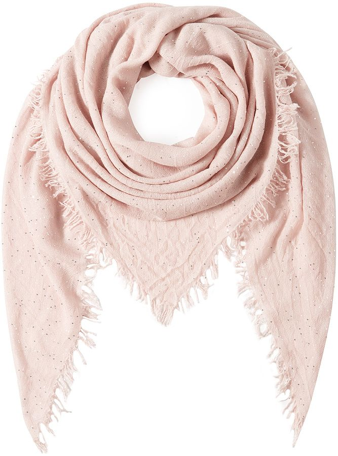 Faliero Sarti Scarf with  Cashmere, Silk and Wool